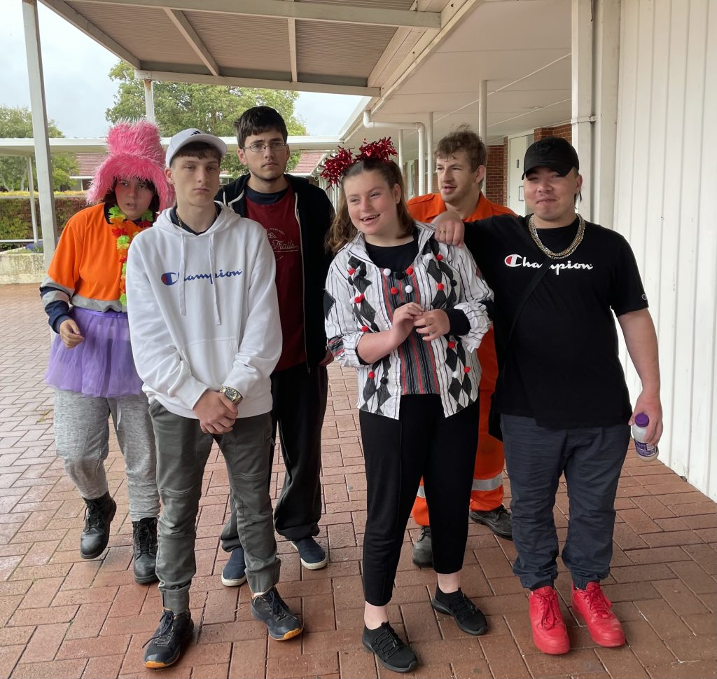 Year 12 dress up day 1